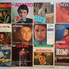 Discos de vinilo: LOTE 12 SINGLES DE ADAMO 12 PULGADAS. Lote 178758373