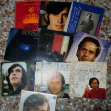 Discos de vinilo: LOTE 11 LPS VINILOS JOAN MANUEL SERRAT. Lote 178761717