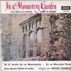 Discos de vinilo: ROBERT SHARPLES,KETELBEY EN EL JARDIN DE UN MONASTERIO DEL 63. Lote 178762082