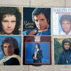Discos de vinilo: LOTE 6 DISCOS DE VINILO ROBERTO CARLOS - LPS ( 1 DOBLE ). Lote 178762996