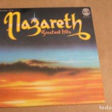 Discos de vinilo: NAZARETH, LP GREATEST HITS, AÑO 1975, EDITADO POR FONOGRAM. Lote 178763442