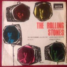 Discos de vinilo: AB-619.- DISCO - EP- THE ROLLING STONES , DECCA 80965, NO ME PUEDES ALCANZAR, SUSIE, LISTO PARA PONE. Lote 178764021