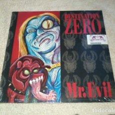 Discos de vinilo: DESTINATION ZERO LP MR EVIL PRECINTADO, NUEVO. Lote 178764097