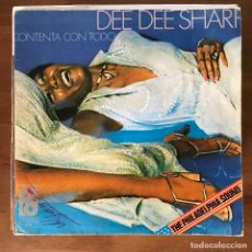 Discos de vinilo: DEE DEE SHARP - HAPPY 'BOUT THE WHOLE THING - SINGLE PIR 1976. Lote 178765290