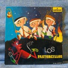 Discos de vinilo: LOS PASTORCILLOS - CASAS AUGÉ Y SU ORQUESTA - CUENTO INFANTIL NARRACIÓN - SINGLE ODEON DEL AÑO 1958. Lote 178766338