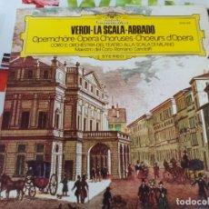 Discos de vinilo: LP. VERDI-LA SCALA-ABBADO. Lote 178774908