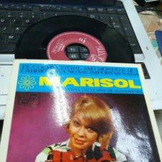 Discos de vinilo: MARISOL EP EL COCHECITO + 3 1965 EN PERFECTO ESTADO. Lote 178775341