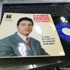 Discos de vinilo: CHACHO EP TU CABALLO + 3 1965. Lote 178776506