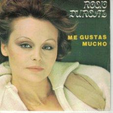 Discos de vinilo: ROCIO DURCAL - ME GUSTAS MUCHO / CUANDO YO QUIERA HAS DE VOLVER (SINGLE ESPAÑOL, ARIOLA 1979). Lote 178777020