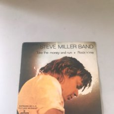 Discos de vinilo: STEVE MILLER BAND - TAKE THE MONEY AND RUN. Lote 178780703