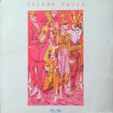 Discos de vinilo: DISCO GOLPES BAJOS. Lote 178781430