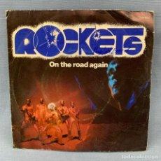 Discos de vinilo: ROCKETS - ON TEH ROAD AGAIN - AÑO 1978 - IPG. Lote 178790813