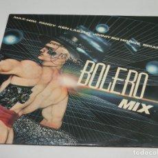 Discos de vinilo: LP - BOLERO MIX 1 - VARIOS - FANCY - KEN LASZLO - MAX HIM - RAUL ORELLANA - 1986. Lote 178791947