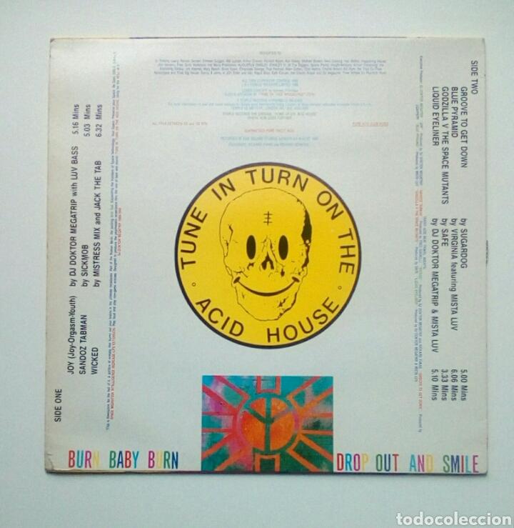 Discos de vinilo: Tekno Acid Beat - Temple Records, 1988. England. - Foto 2 - 178794465