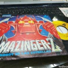 Discos de vinilo: MAZINGER Z EL ROBOT DE LAS ESTRELLAS SINGLE 1978. Lote 178803913