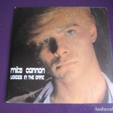 Discos de vinilo: MIKE CANNON SG DISCOS GAMES 1985 - VOICES IN THE DARK +1 ITALODISCO DISCO POP ITALIA 80'S - SIN USO. Lote 178806627