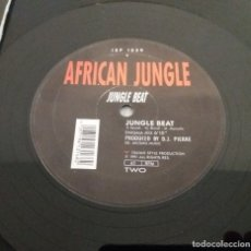Discos de vinilo: AFRICAN JUNGLE / JUNGLE BEAT / ITALIAN STYLE 1991 / MAXI-SINGLE 12 INCH. Lote 178820816