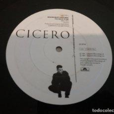 Discos de vinilo: CICERO / HEAVEN MUST HAVE SENT YOU BACK TO ME / MAXI-SINGLE 12 INCH. Lote 178823346