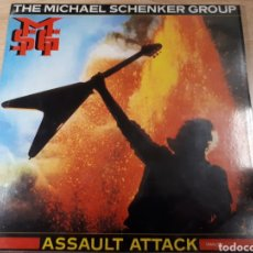 Discos de vinilo: THE MICHAEL SCHENKER GROUP ASSAULT ATTACK. Lote 178824990