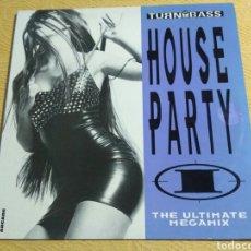 Discos de vinilo: HOUSE PARTY I (THE ULTIMATE MEGAMIX) (2XLP, MIXED). Lote 178830922