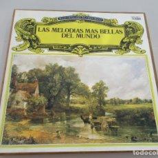 Discos de vinilo: LAS MELODIAS MAS BELLAS DEL MUNDO CAJA 8 LP SELECCIONES DEL READER´S DIGEST. Lote 178832596