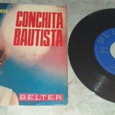 Discos de vinilo: CONCHITA BAUTISTA: EL PANTALÓN +3(1966. BELTER). Lote 178833998