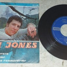Discos de vinilo: TOM JONES: DELILAH +3(COLUMBIA DECCA 1968). Lote 178834808