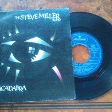 Discos de vinilo: THE STEVE MILLER BAND, ABRACADABRA (MERCURY 1982) -SINGLE-. Lote 178835261