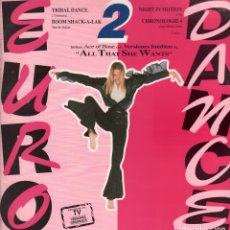 Discos de vinilo: EURO DANCE 2 - ALL THAT SHE WANTS / LP POLYDOR DE 1993 RF-7886 , BUEN ESTADO. Lote 178835303