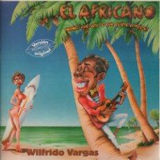 Discos de vinilo: WILFRIDO VARGAS - EL AFRICANO / LP MAXISINGLE DE 1985 RF-7889 , PERFECTO ESTADO. Lote 178836393