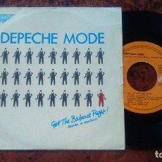 Discos de vinilo: DEPECHE MODE- GET THE BALANCE RIGHT. SINGLE 1983. Lote 178836658