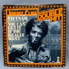 Discos de vinilo: JIMMY CLIFF - DOUBLE HIT - VIETNAM - YOU CAN GET IT IF YOU REALLY WANT - ISLAND RECORDS . Lote 178837430