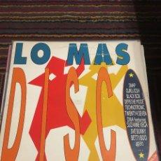 Discos de vinilo: LO MAS DISCO LP. Lote 178842891