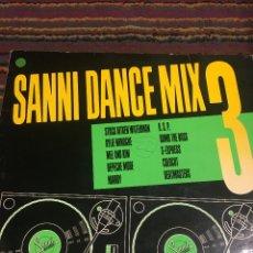 Discos de vinilo: SANNI DANCE MIX 3. Lote 178843588
