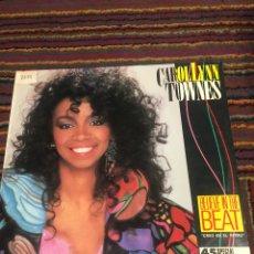 Discos de vinilo: CAROL LYNN TOWNES - BELIEVE IN THE BEAT - MAXI. Lote 178844137