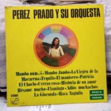 Discos de vinilo: PEREZ PRADO Y SU ORQUESTA . Lote 178852760