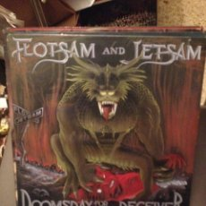 Discos de vinilo: FLOTSAM AND JETSAM ‎: DOOMSDAY FOR THE DECEIVER ROADRUNNER RECORDS ‎– RR 9683 1986 ED.NETHERLANDS. Lote 178854837