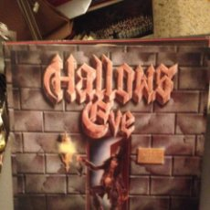 Discos de vinilo: HALLOWS EVE: DEATH & INSANITY METAL BLADE RECORDS ‎– RR 9676 ED. NETHERLANDS 1986. Lote 178855453