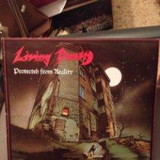 Discos de vinilo: LIVING DEATH : PROTECTED FROM REALITY VICTORIA – VLP-260 ED. ESPAÑA 1987 PDI. Lote 178855720