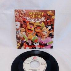 Discos de vinilo: MUPPET SHOW. MACHO MAN. SINGLE COMO NUEVO. Lote 178855740