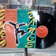 Discos de vinilo: LMV - EURO DANCE. POLYDOR 1993, REF. 516 322-1. LP. Lote 178860582