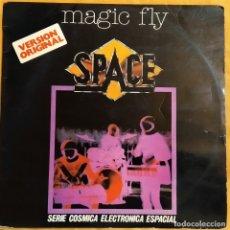 Discos de vinilo: LP SPACE - MAGIC FLY, ESPAÑA 1977, HISPAVOX – HXS 001-55, CÓSMICA ESPACIAL, (VG_VG). Lote 178870483