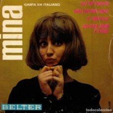 Discos de vinilo: MINA - CITTA VUOTA + 3 - EP SPAIN 1964 -. Lote 178871393