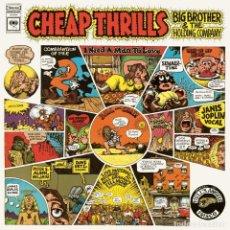 Discos de vinilo: LP BIG BROTHER AND THE HOLDING COMPANY CHEAP THRILLS JANIS JOPLIN BLUES ROCK ACIDO PSICODELIA. Lote 90996400