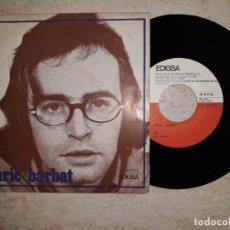 Discos de vinilo: ENRIC BARBAT.ADEU .REDOXON FRAPPE.1970. Lote 178877715