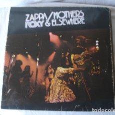 Discos de vinilo: ZAPPA / MOTHERS ROXY & ELSEWHERE. Lote 178878320