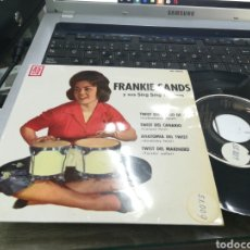 Discos de vinilo: FRANKIE SANDS EP TWIST DEL SUEÑO DE AMOR + 3 1962 ESPAÑA. Lote 178881101