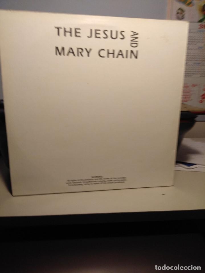 Discos de vinilo: LP THE JESUS AND MARY CHAIN : 3.DEZ.1989 BERLIN - METROPOL - Foto 2 - 178885045