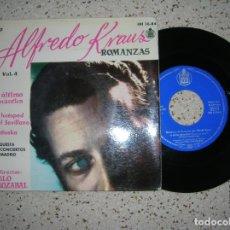 Discos de vinilo: DISCO DE ALFREDO KRAUS ,ROMANZAS VOL,4 AÑO 1959. Lote 178887605