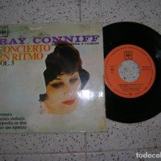 Discos de vinilo: DISCO DE RAY CONNYFF ,CONCIERTO EN RITMO VOL,3 AÑO 1963. Lote 178888488